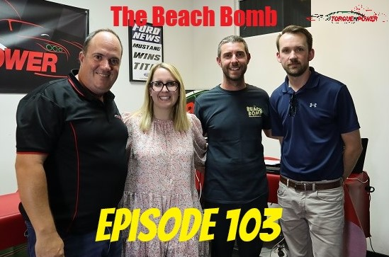 Episode 103 – Andrew and Michelle Katavatis and James Rowland – The Beach Bomb