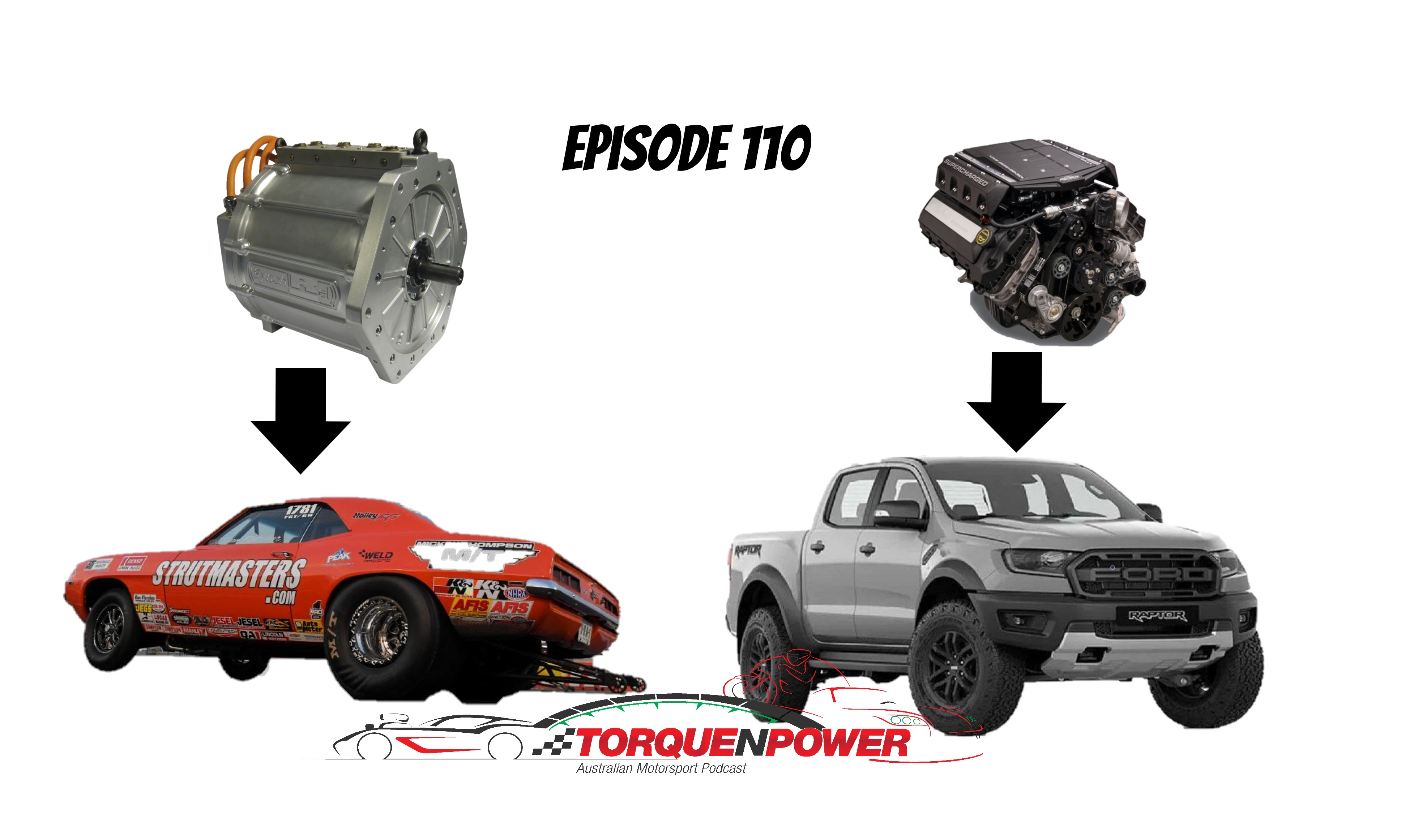 Episode 110 – Ed goes 6's, EV Drag Racing and Q&A Time