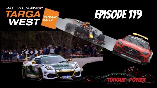Episode 119 – Targa West Preview and MotoGP shenanigans